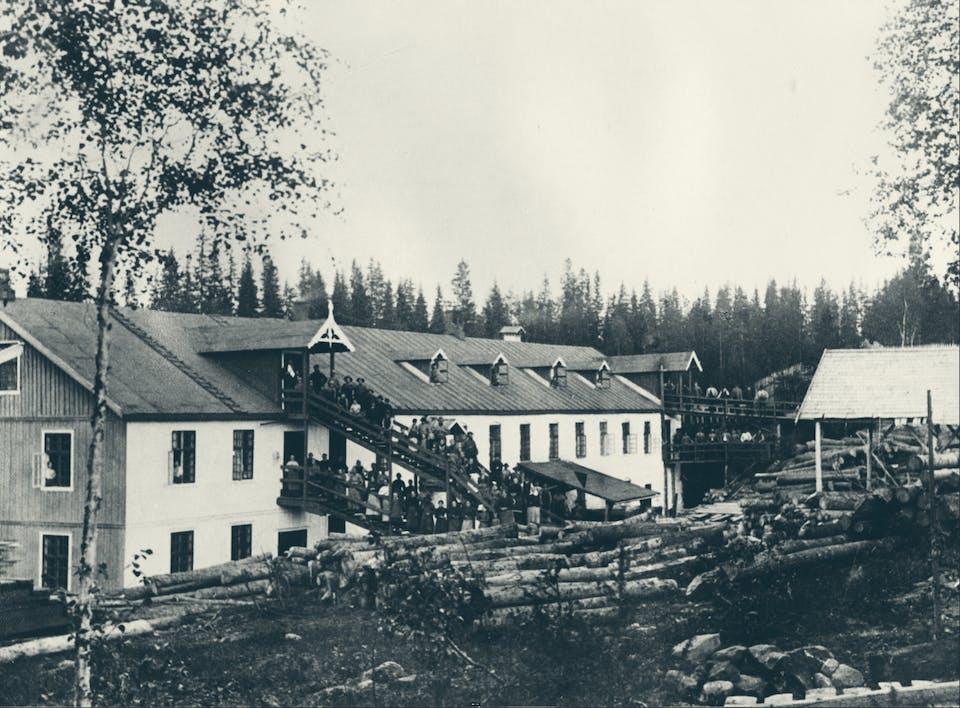 Bygninger i fabrikken