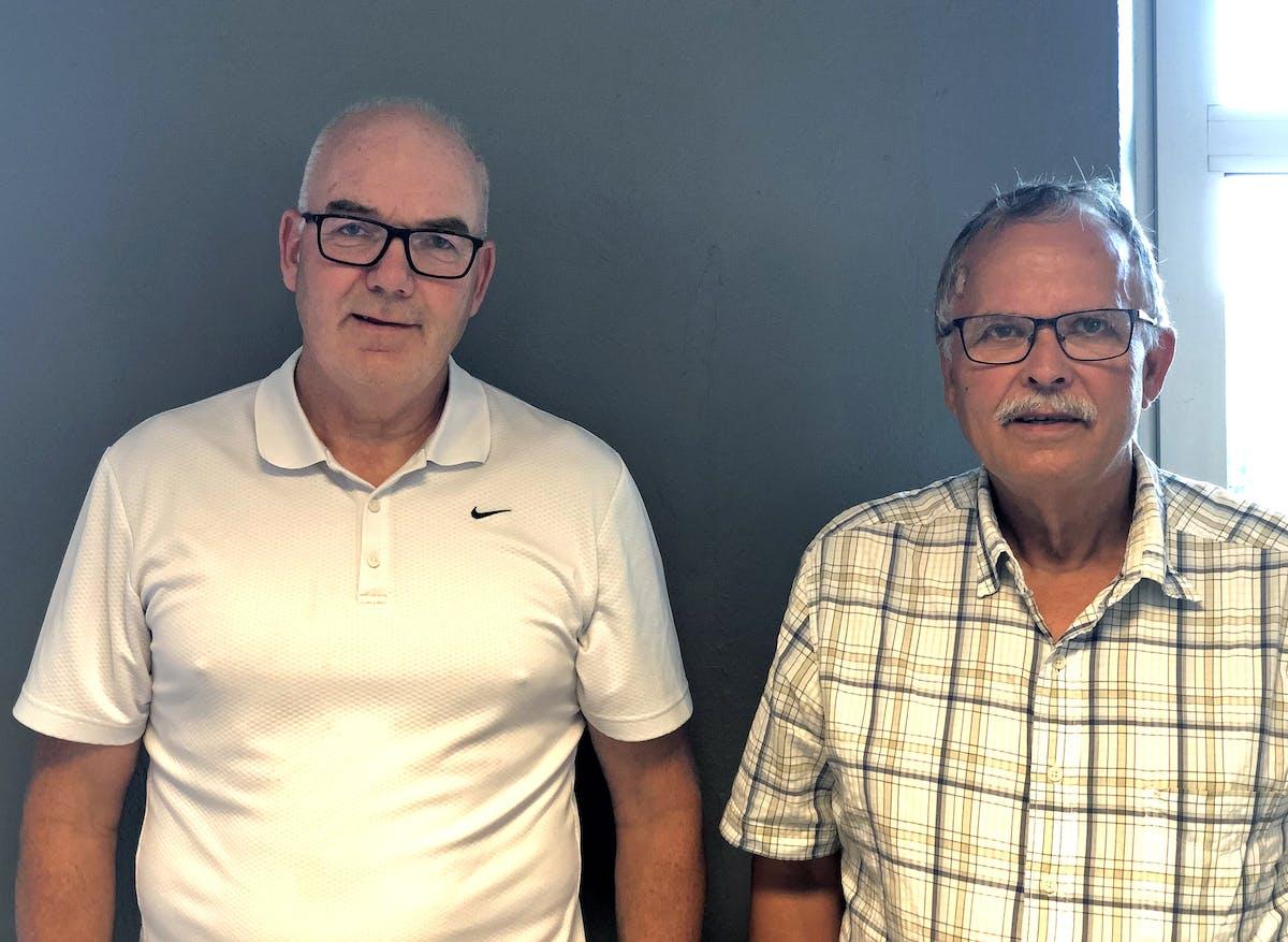 Roy Jacobsen og Erland Paulsrud