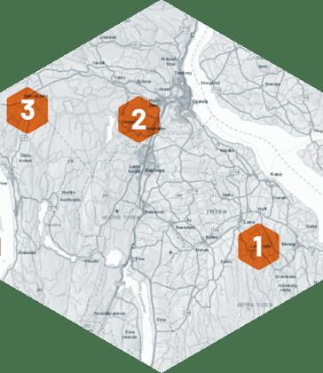 Raufoss Industripark er med i kampen om batterifabrikk